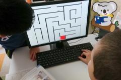 小学生プログラミング迷路
