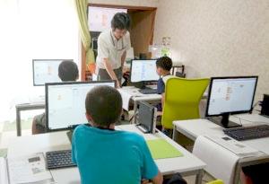 """小学生向けに""""英語""""と""""プログラミング""""がどちらも同じ場所で学べる!"""