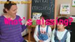 [Classroom English] おうちで楽しく、英語でMissing Game!!