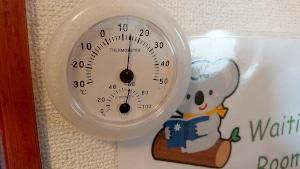 温度・湿度チェック