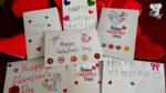 [英語イベント] バレンタインレッスンでカードを書いてみました!(^^)!