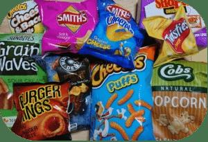 オーストラリアのスナック菓子
