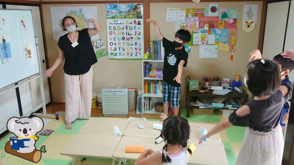 動作の英語表現を学ぶ2